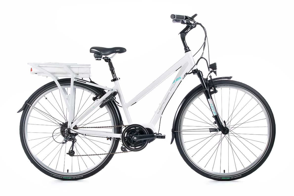 Bicicleta electrica Leader Fox Hasuda Lady 2016