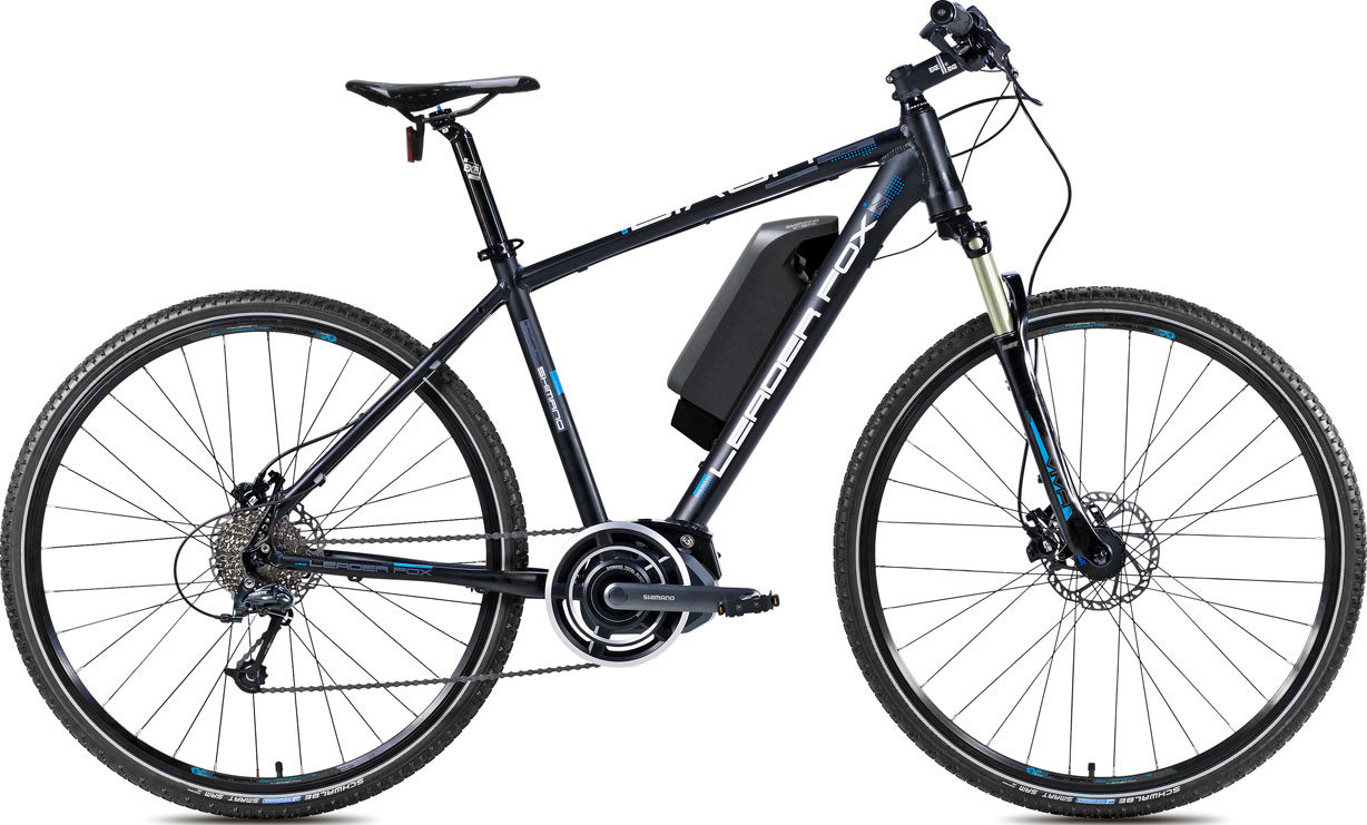 Bicicleta electrica cross Leader Fox E-Dixon