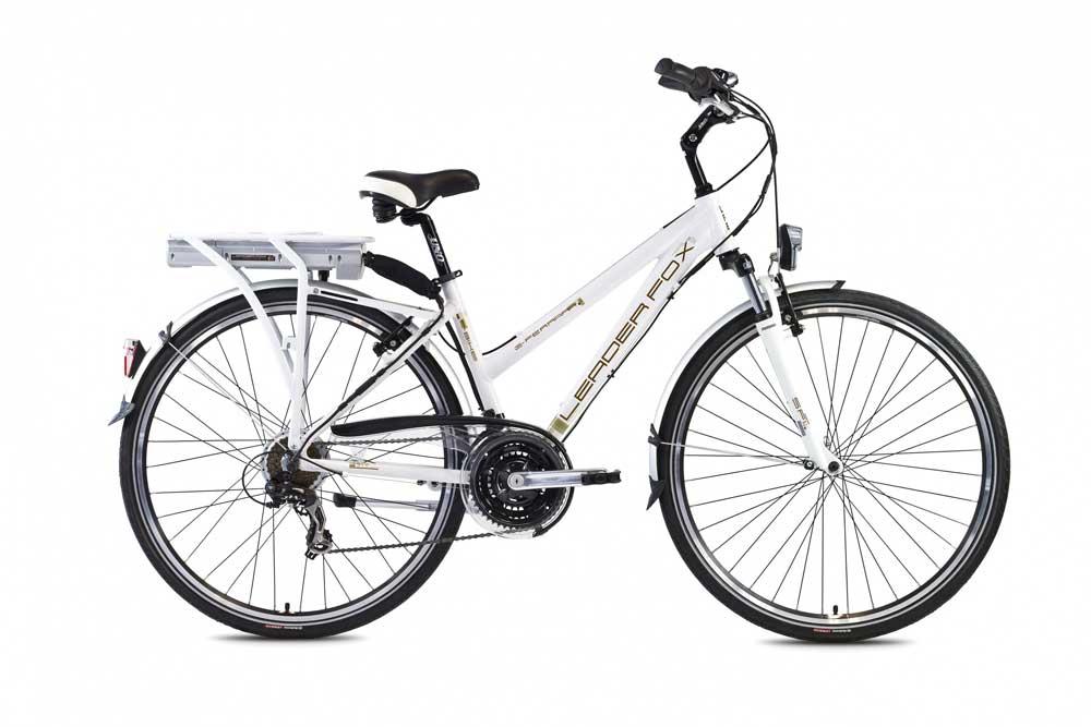 Bicicleta electrica de oras Leader Fox E-Ferrara Lady