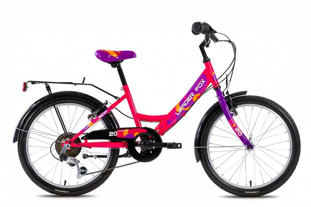Bicicleta de copii Leader Fox Bear Girl
