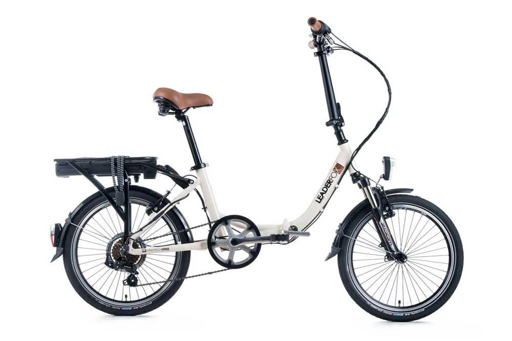 Bicicleta electrica pliabila Leader Fox E-Cityzoom