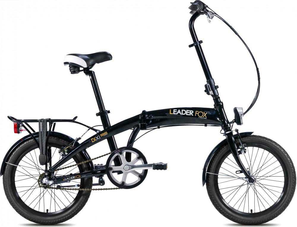 Bicicleta pliabila Leader Fox Dixi neagra