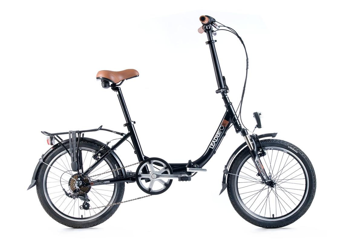 Bicicleta pliabila Leader Fox CITYZOOM - negru
