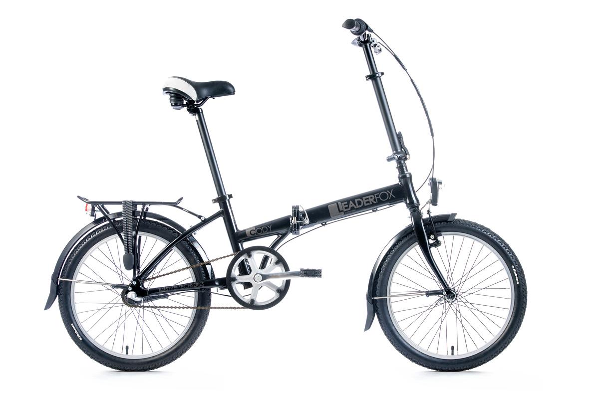 Bicicleta pliabila Leader Fox CODY - negru
