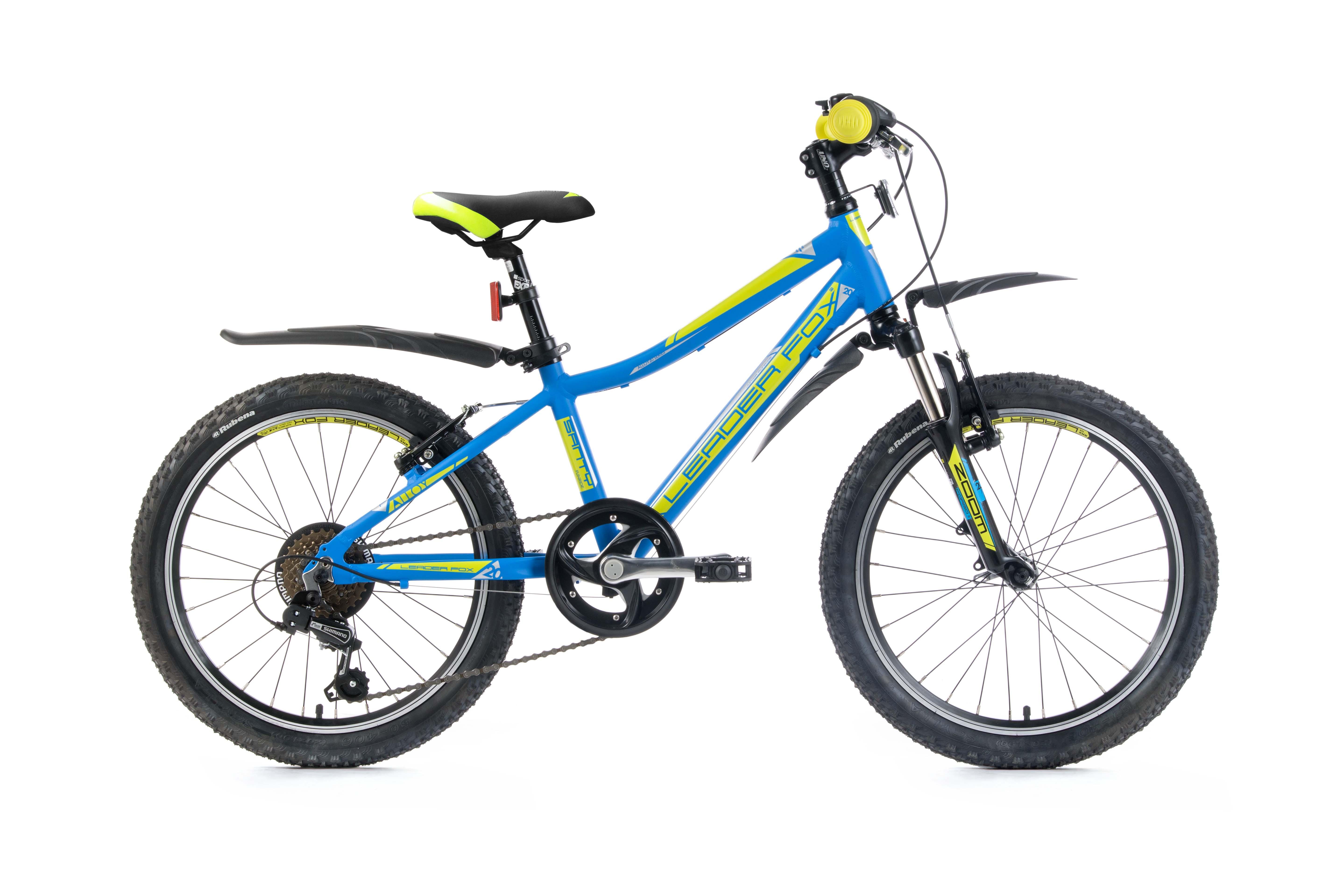Bicicleta de copii Leader Fox Santy - albastru