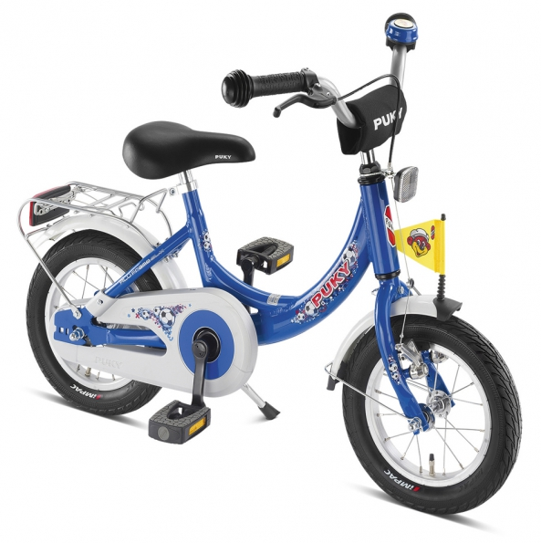 Bicicleta copii Puky ZL 12-1 Alu - albastru