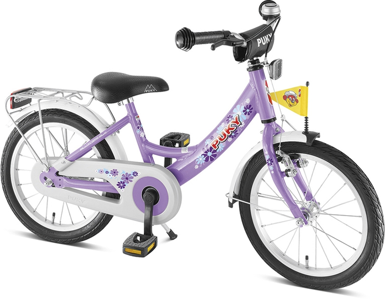 Bicicleta copii Puky ZL-16 Alu - lilac
