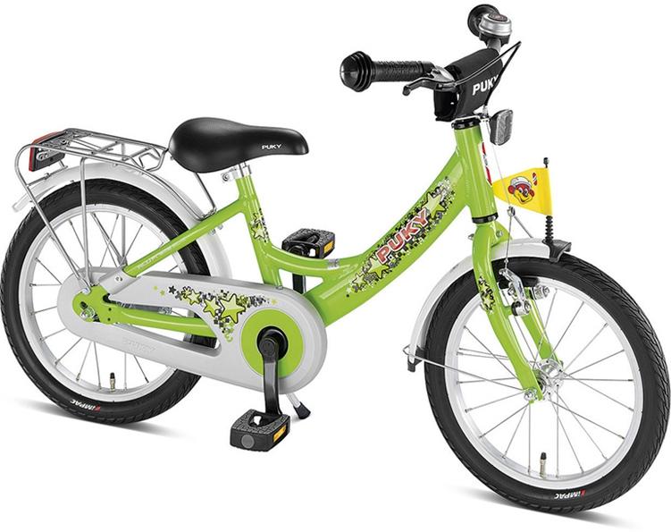 Bicicleta copii Puky ZL-16 Alu - verde