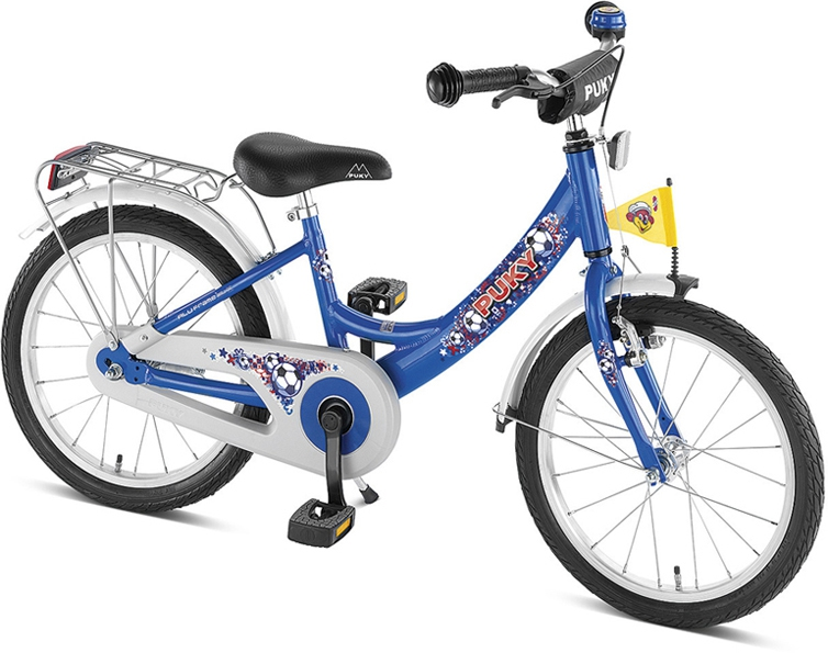 Bicicleta copii Puky ZL-18 Alu - albastru
