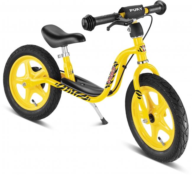 Bicicleta fara pedale Puky LR 1L Brake - galben