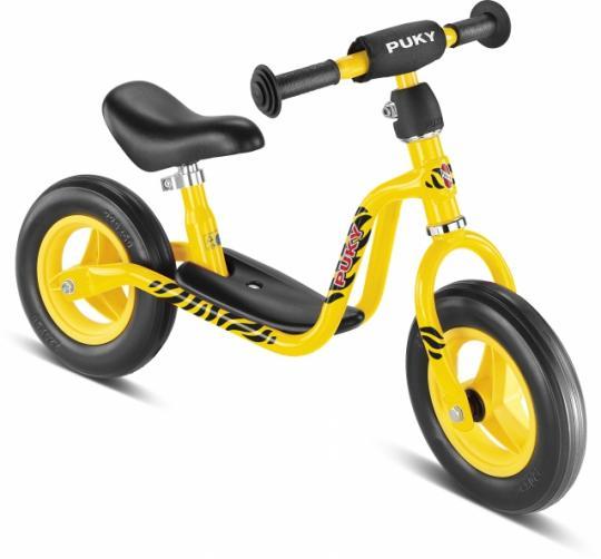Bicicleta fara pedale Puky LR M - galben