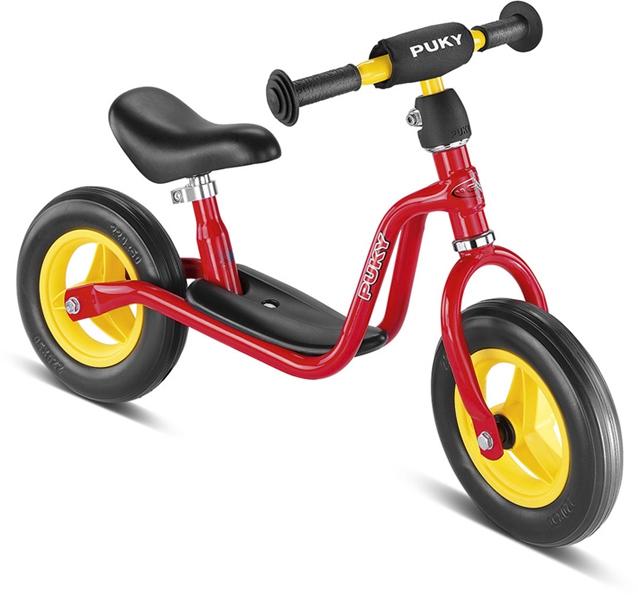 Bicicleta fara pedale Puky LR M - rosu