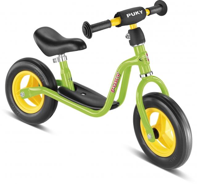 Bicicleta fara pedale Puky LR M - verde