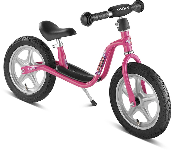 Bicicleta fara pedale Puky LR 1L - pink