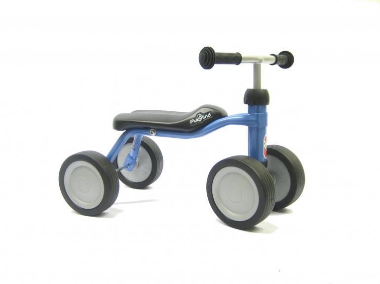 Bicicleta fara pedale Puky Pukylino - bleu