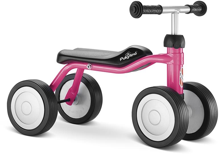 Bicicleta fara pedale Puky Pukylino - pink