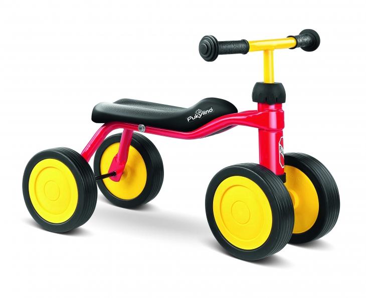 Bicicleta fara pedale Puky Pukylino - rosu