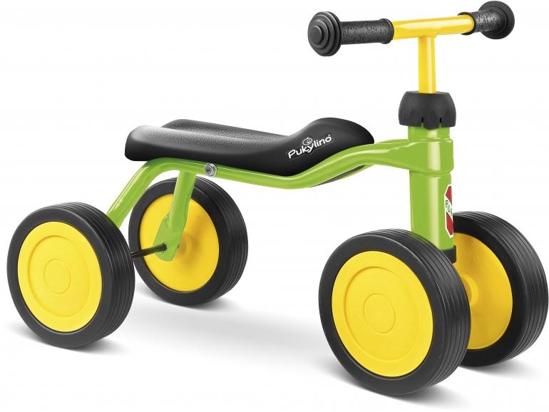 Bicicleta fara pedale Puky Pukylino - verde