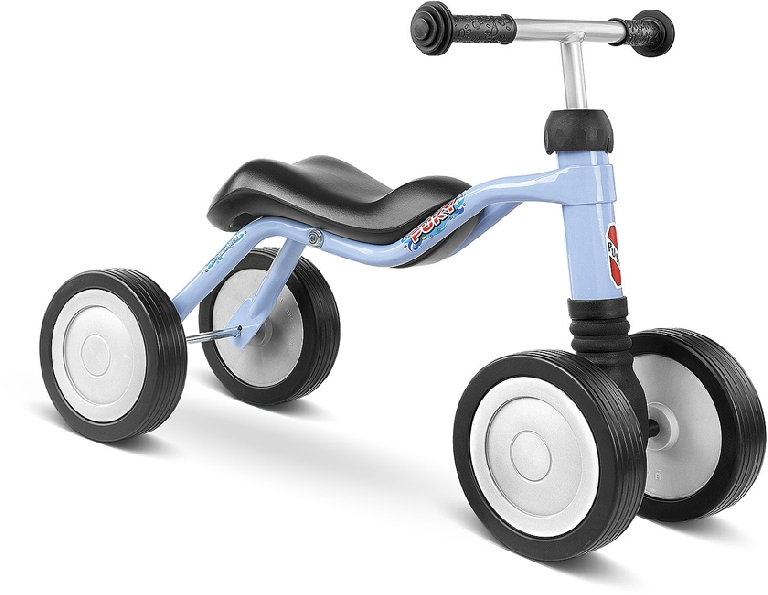 Bicicleta fara pedale Puky Wutsch - bleu