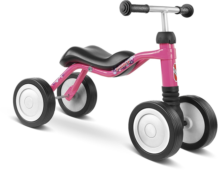 Bicicleta fara pedale Puky Wutsch - pink