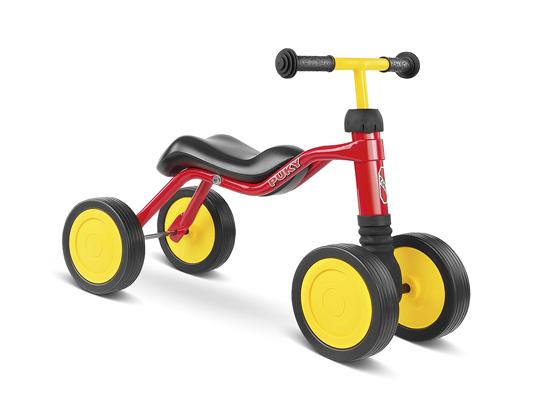 Bicicleta fara pedale Puky Wutsch - rosu