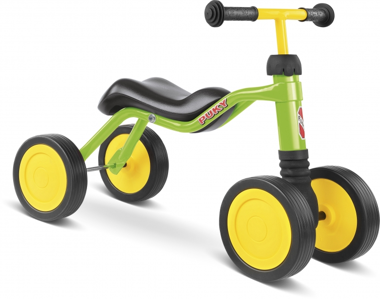 Bicicleta fara pedale Puky Wutsch - verde