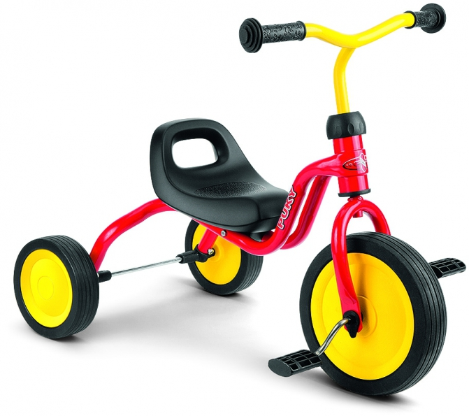 Tricicleta copii Puky Fitsch - rosu