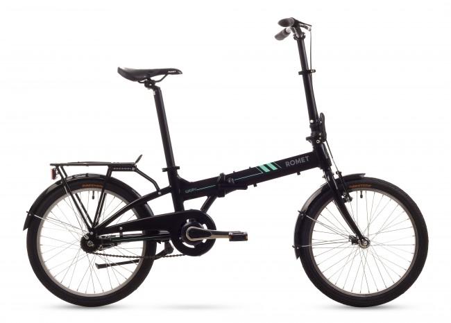 Bicicleta pliabila Romet WIGRY 2 - 2016 Negru