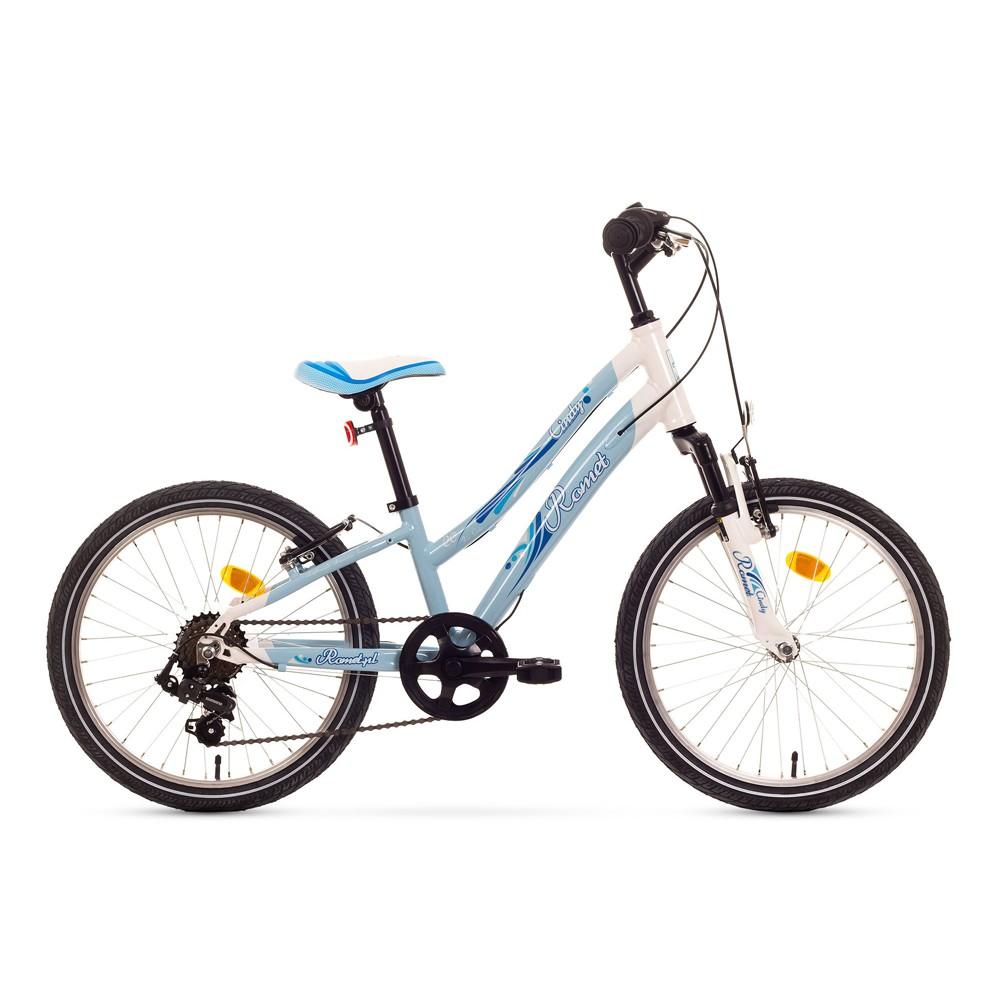 Bicicleta de copii Romet Cindy 20 - albastru