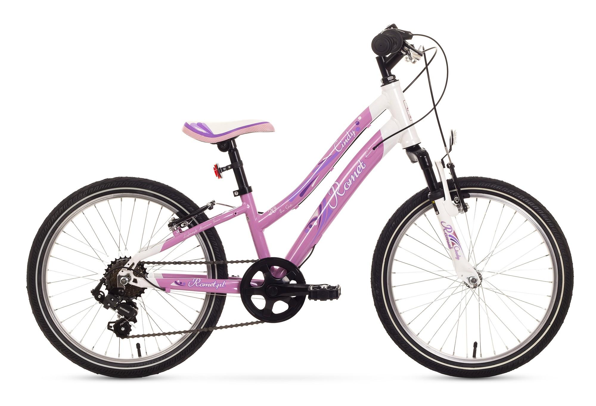 Bicicleta de copii Romet Cindy 20 - roz