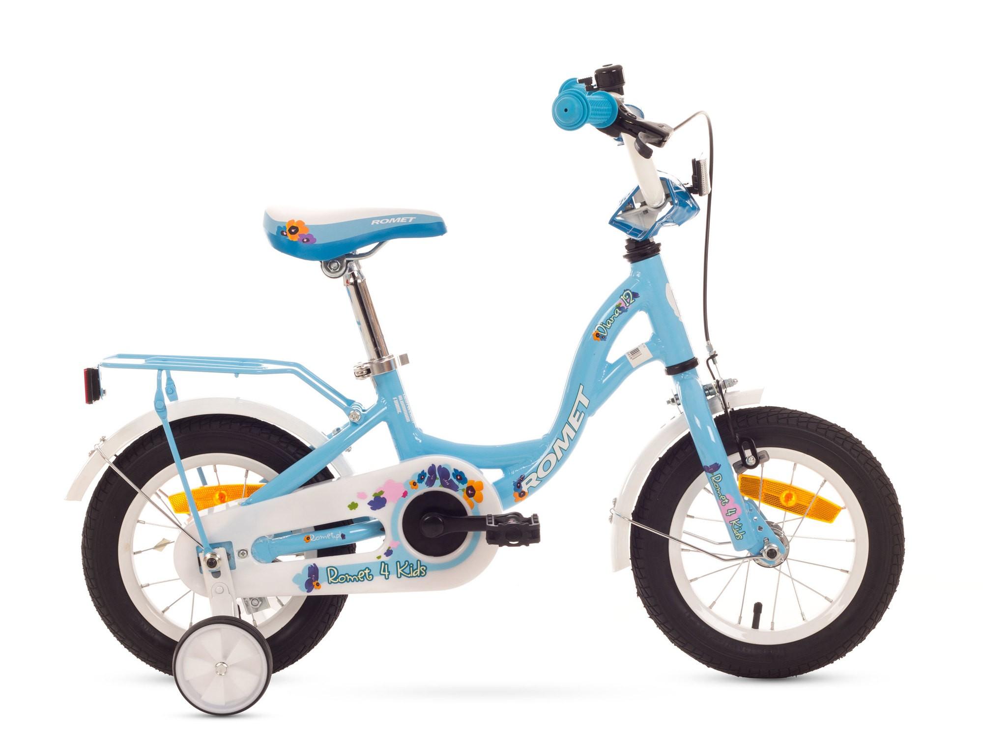 Bicicleta de copii Romet Diana 12 - albastru