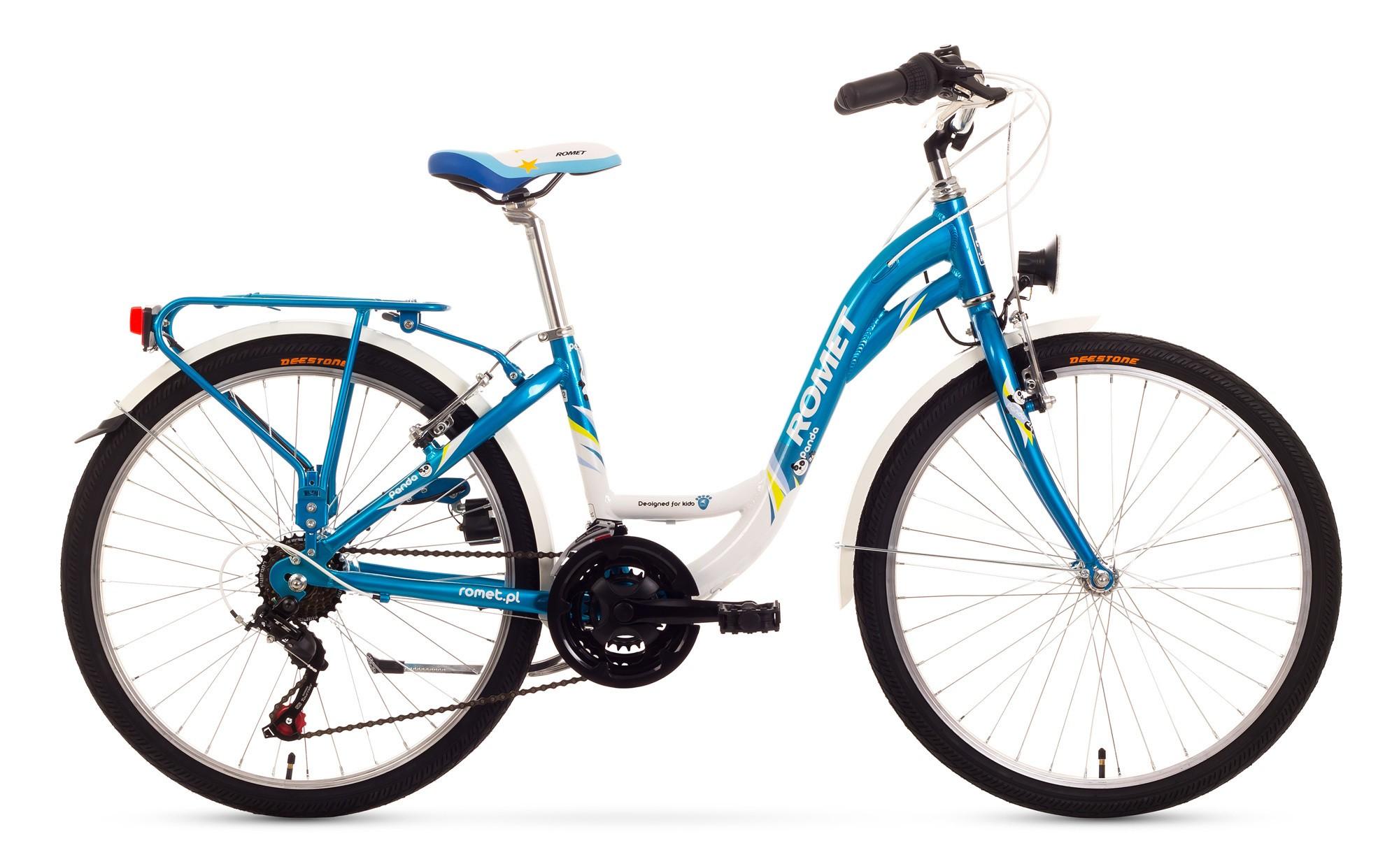 Bicicleta de copii Romet Panda 24 - albastru