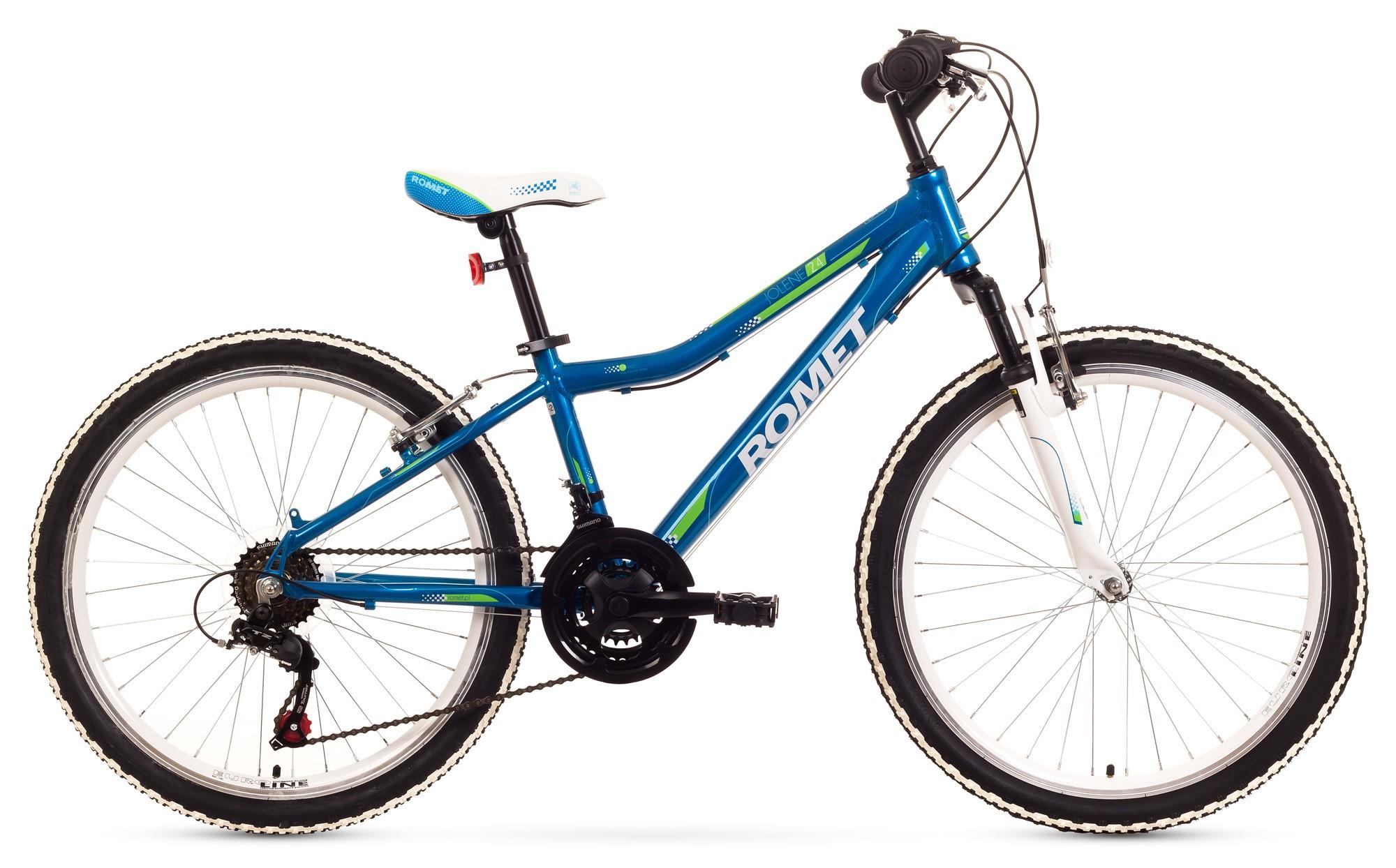Bicicleta de copii Romet Jolene 24 - albastru