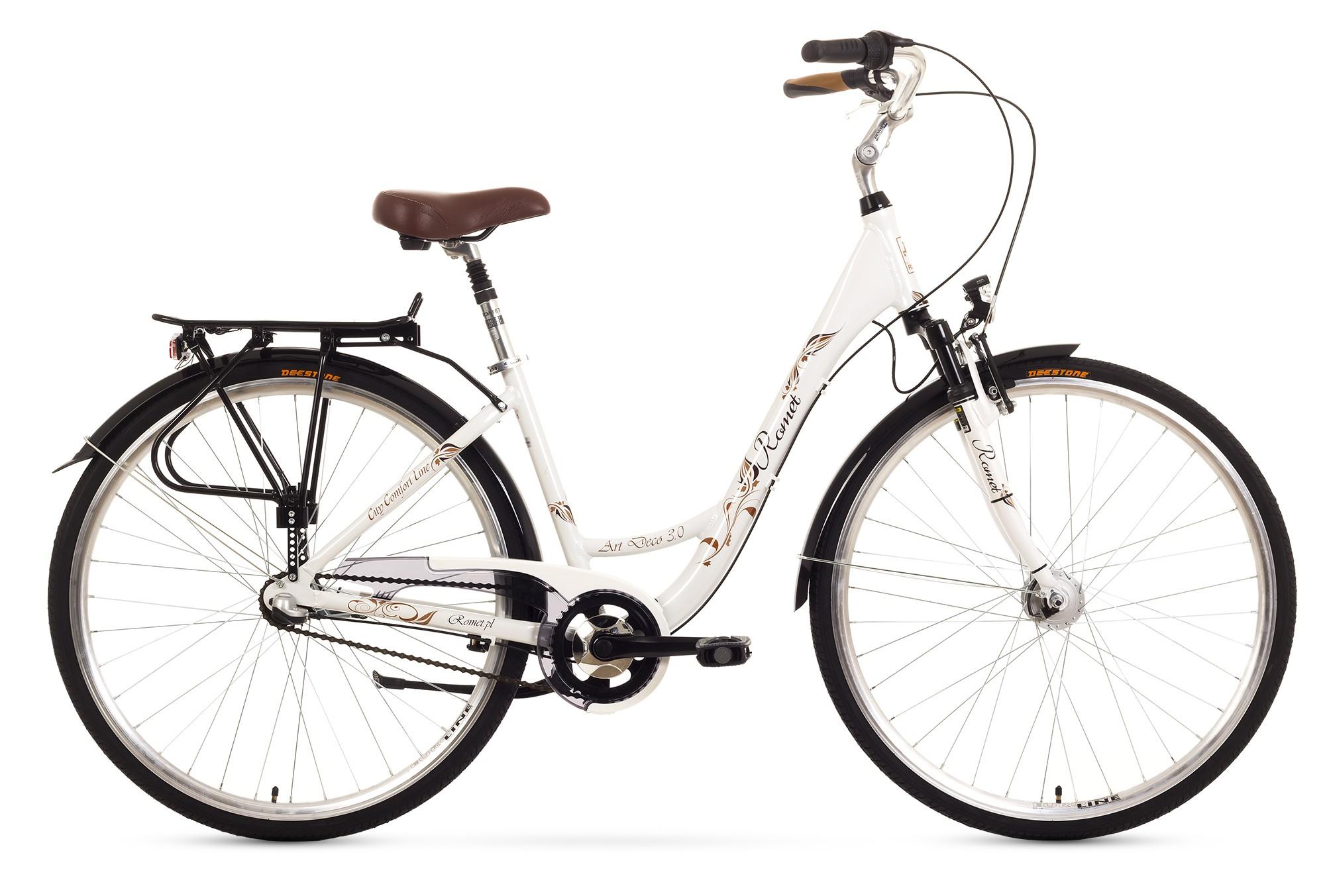 Bicicleta de oras Romet Art Deco 3 - alb
