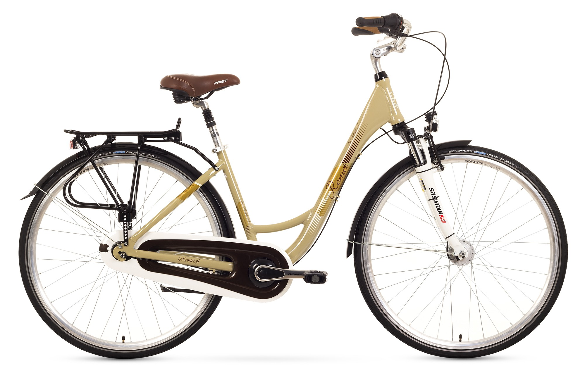 Bicicleta de oras Romet Art Deco 7 - bej