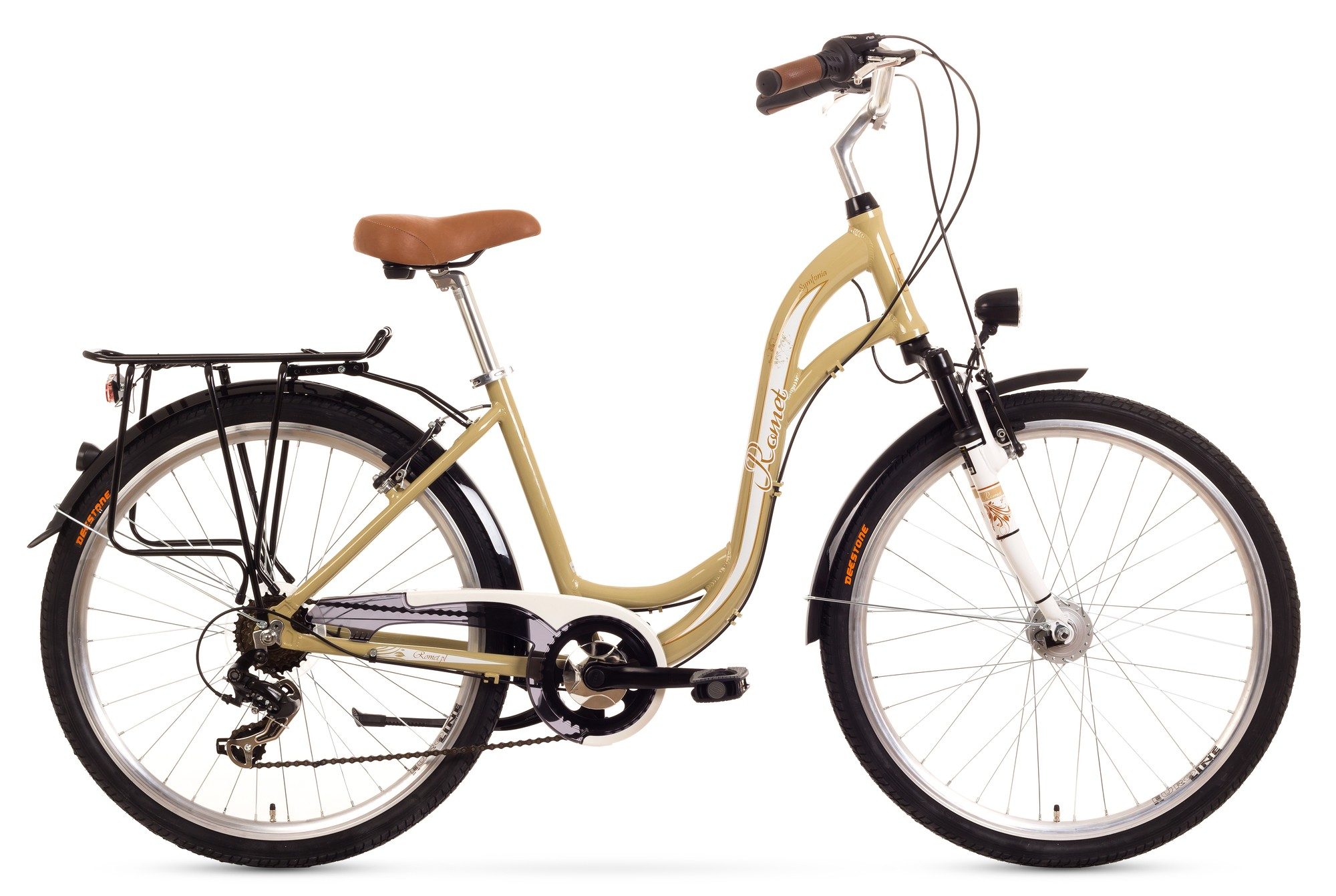 Bcicleta de oras Romet Symfonia - bej