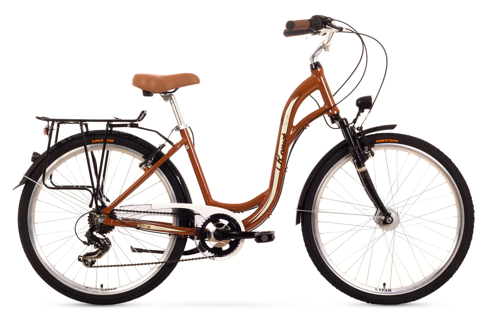 Bcicleta de oras Romet Symfonia - maro