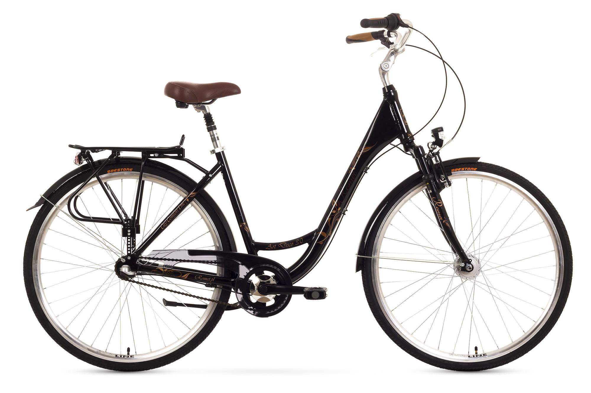 Bicicleta de oras Romet Art Deco 3 - negru