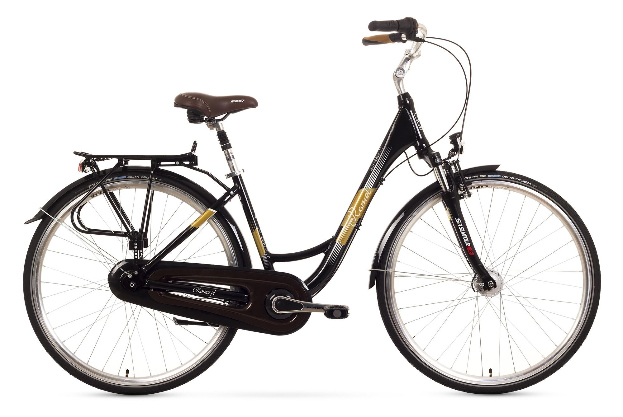 Bicicleta de oras Romet Art Deco 7 - negru