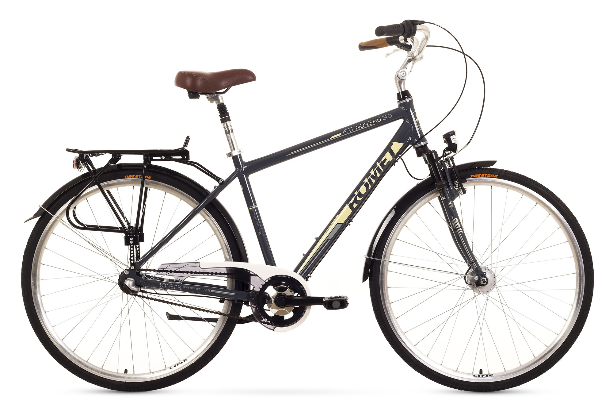 Bicicleta de oras Romet Art Noveau 3 - gri