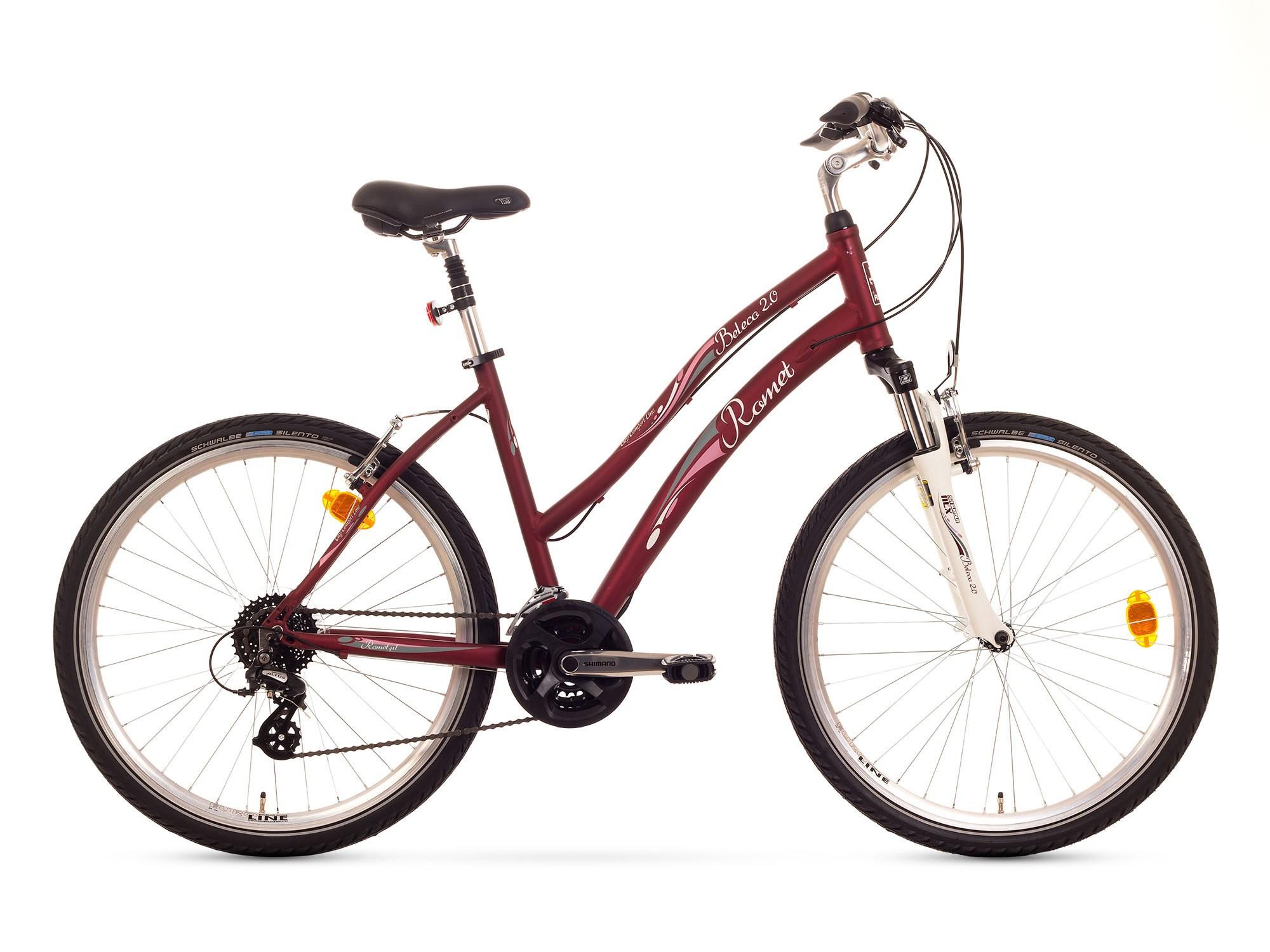 Bicicleta de oras Romet Beleco 2.0 - maro