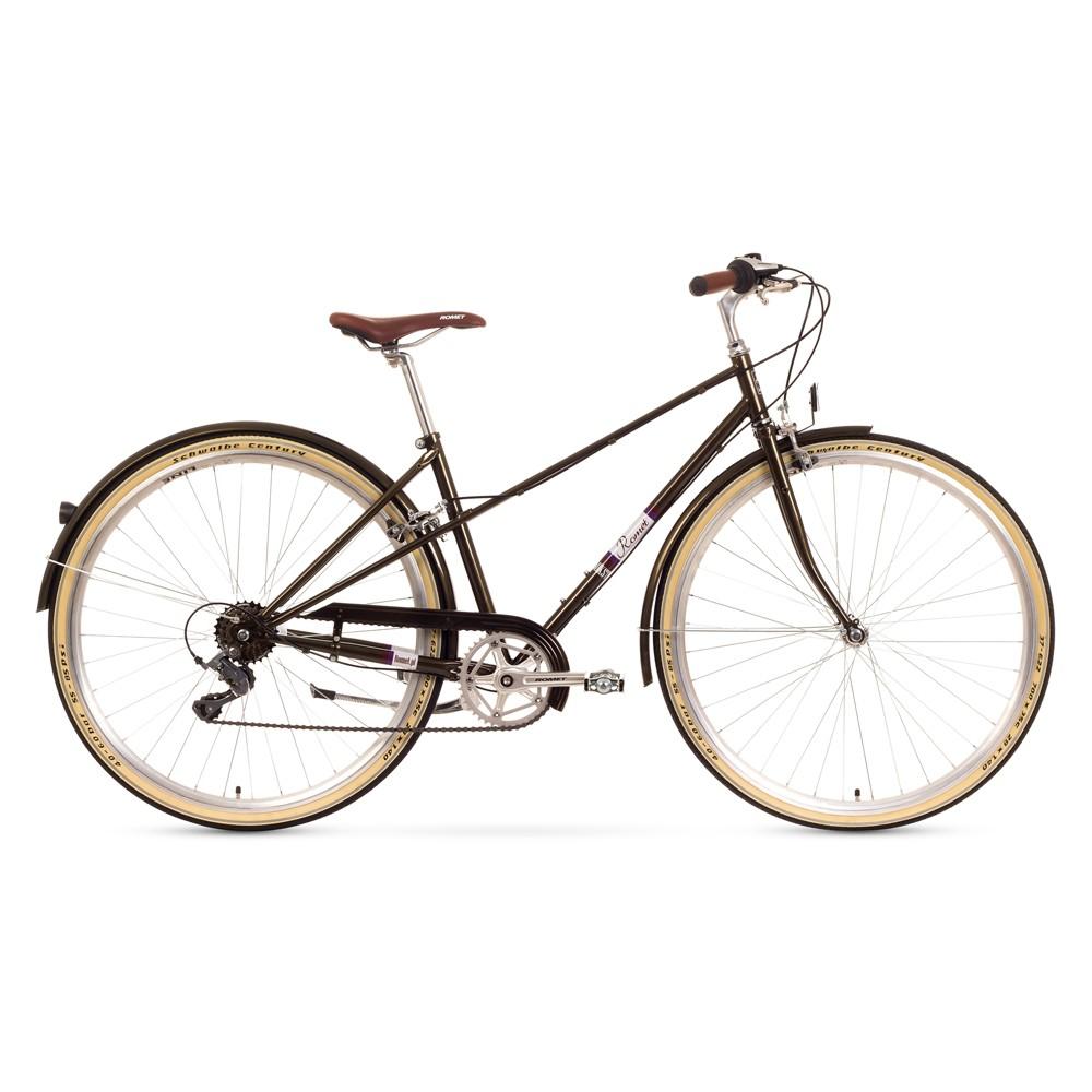 Bicicleta de oras Romet Mikste - verde