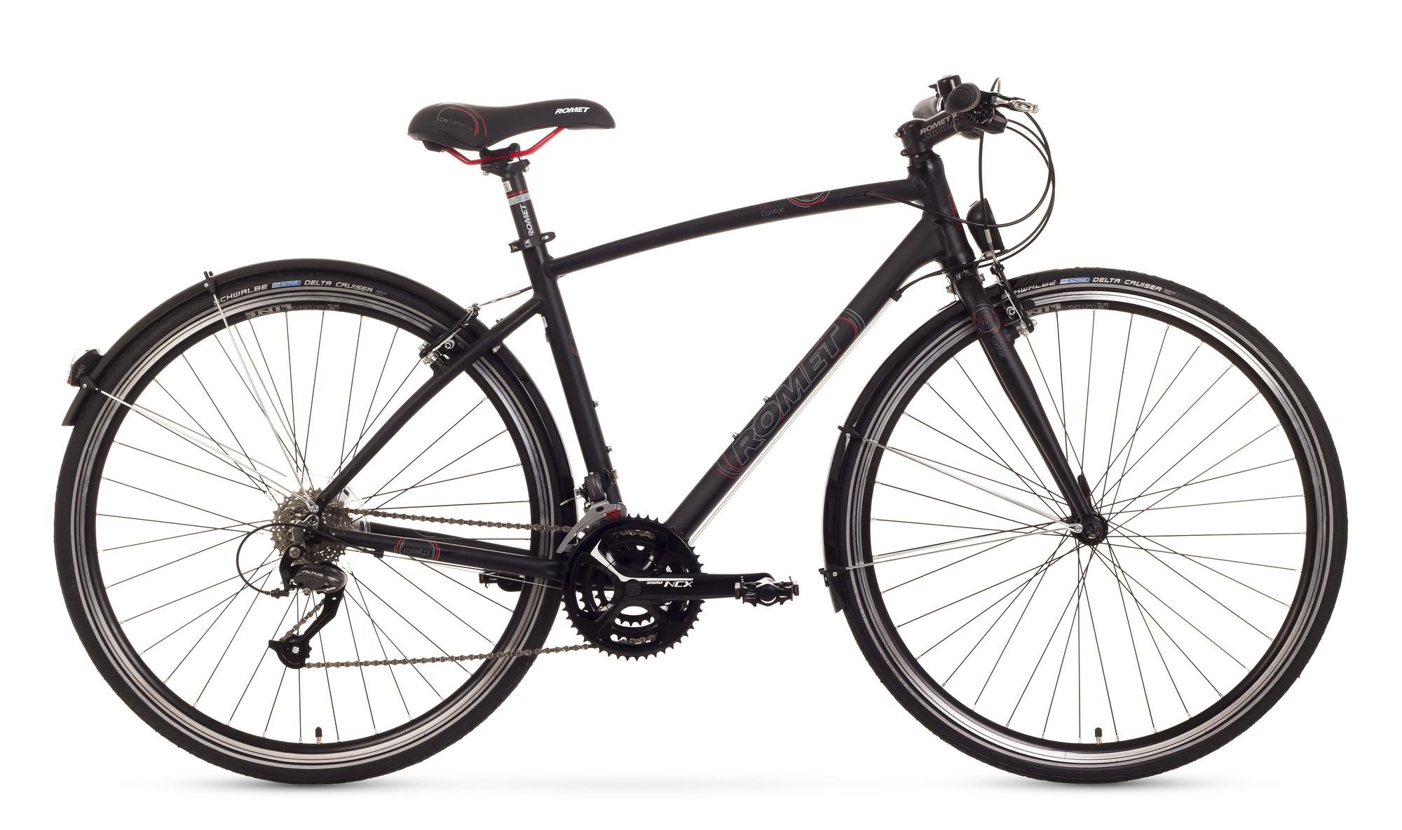Bicicleta de oras Romet Mistral City - negru