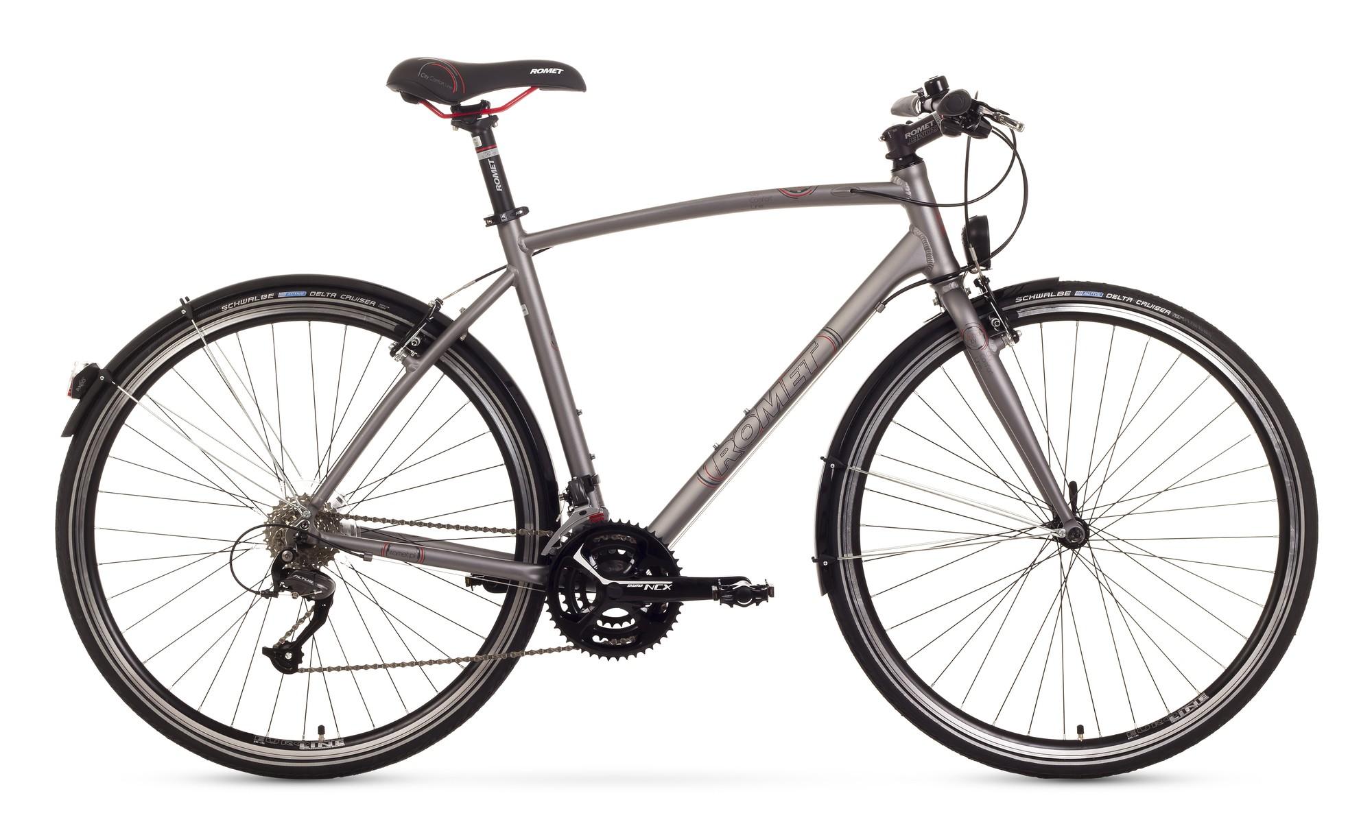 Bicicleta de oras Romet Mistral City - silver