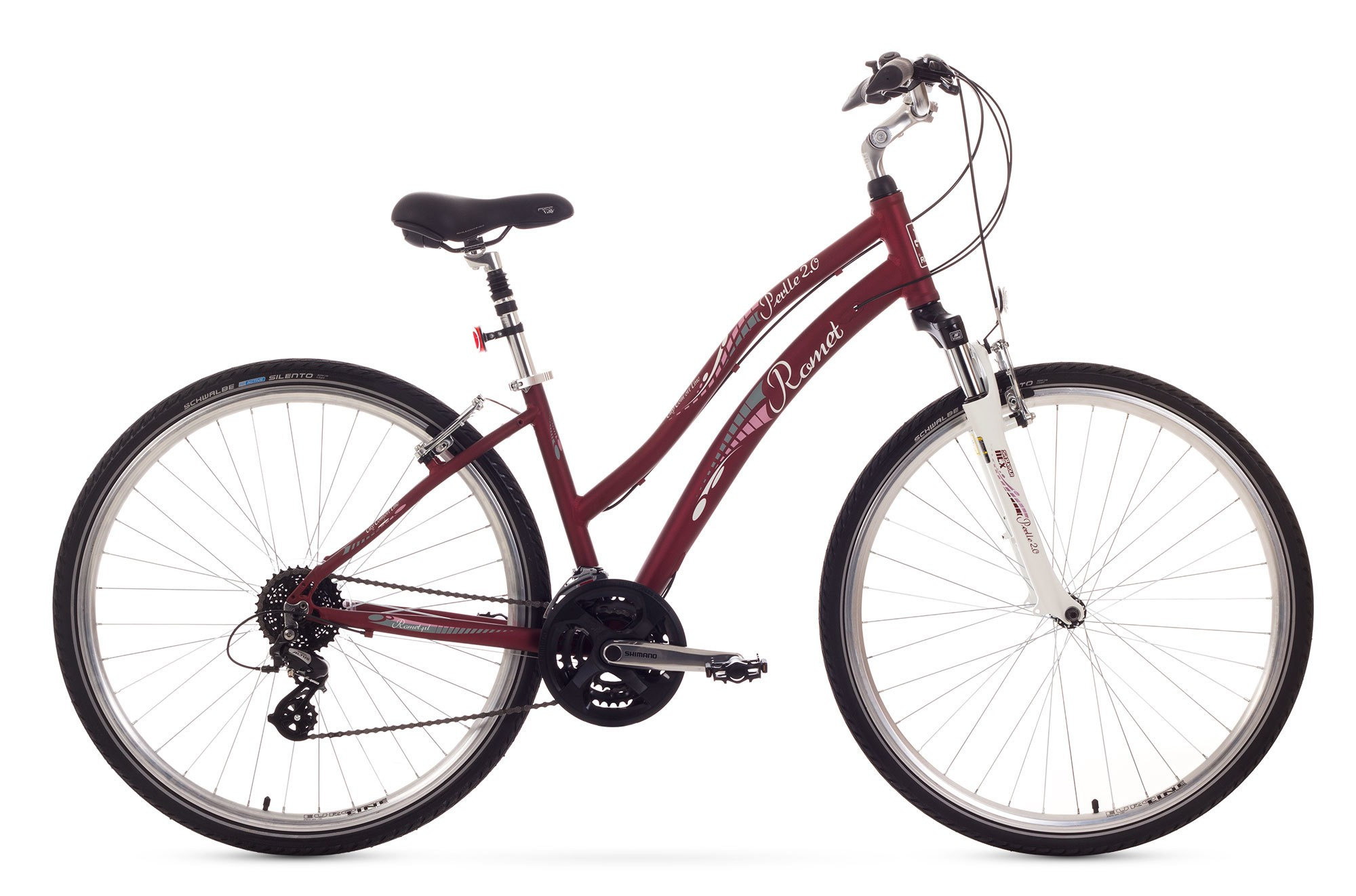 Bicicleta de oras Romet Perlle 2.0 - maro