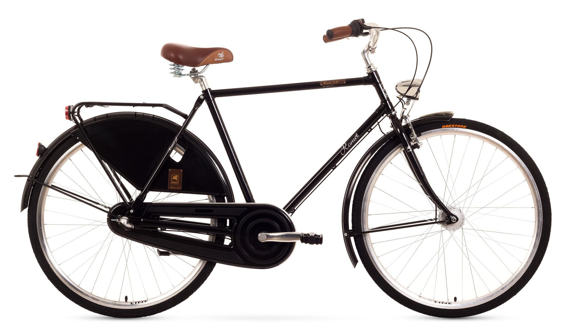 Bicicleta de oras Romet Retro 3 - negru