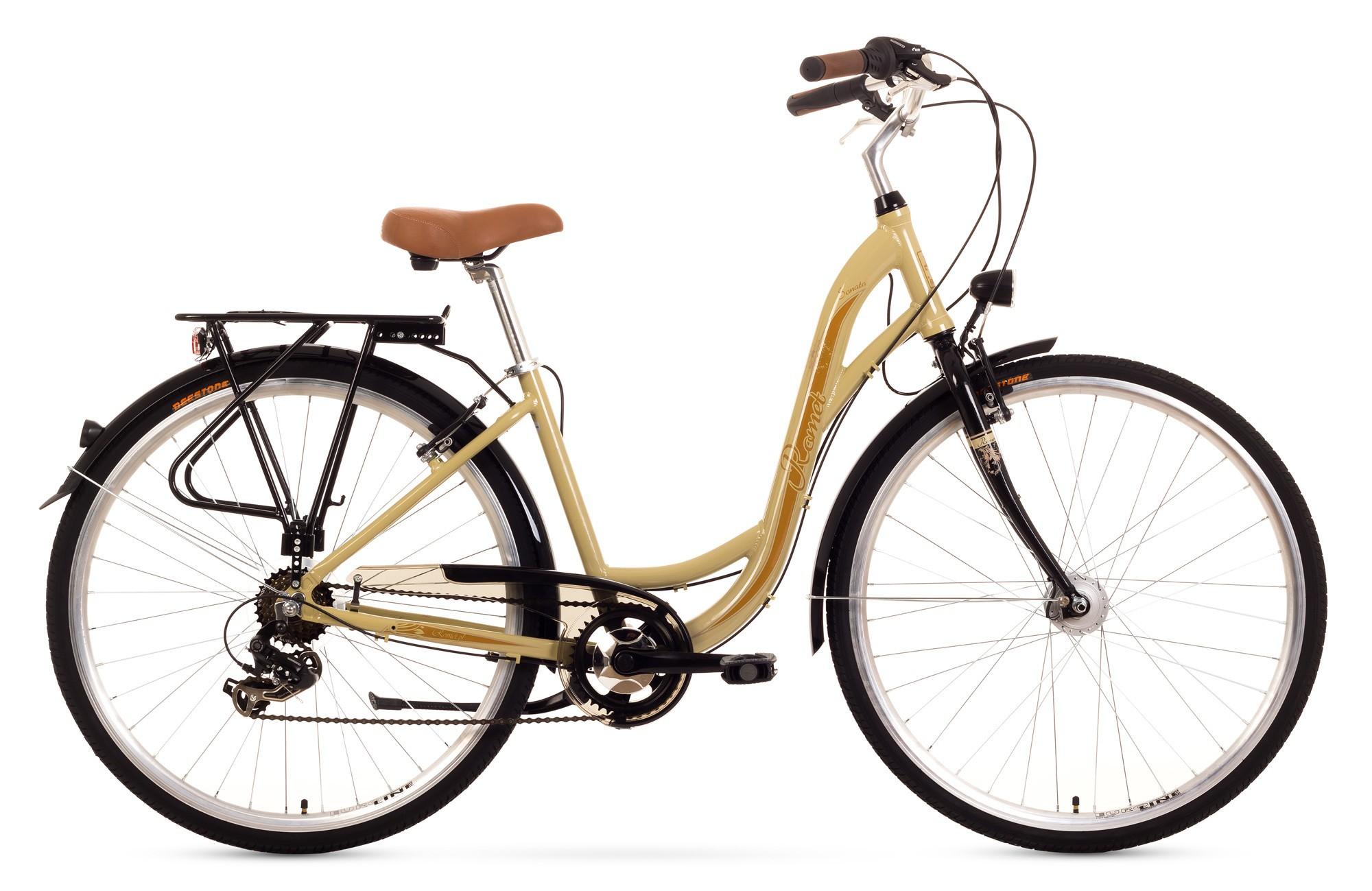 Bicicleta de oras Romet Sonata - crem
