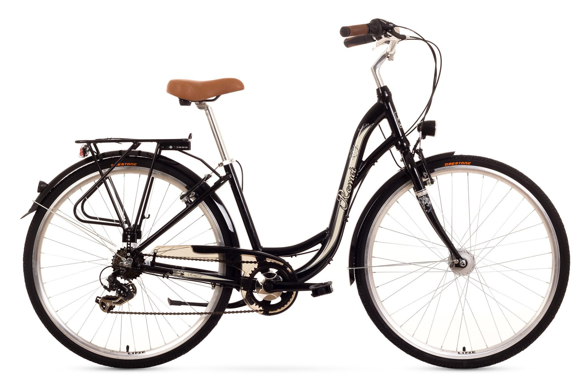 Bicicleta de oras Romet Sonata - negru