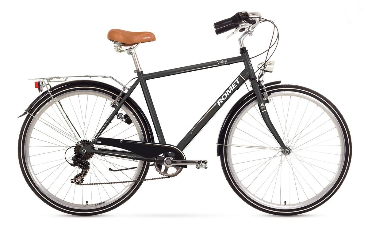 Bicicleta de oras Romet Vintage M - grafit