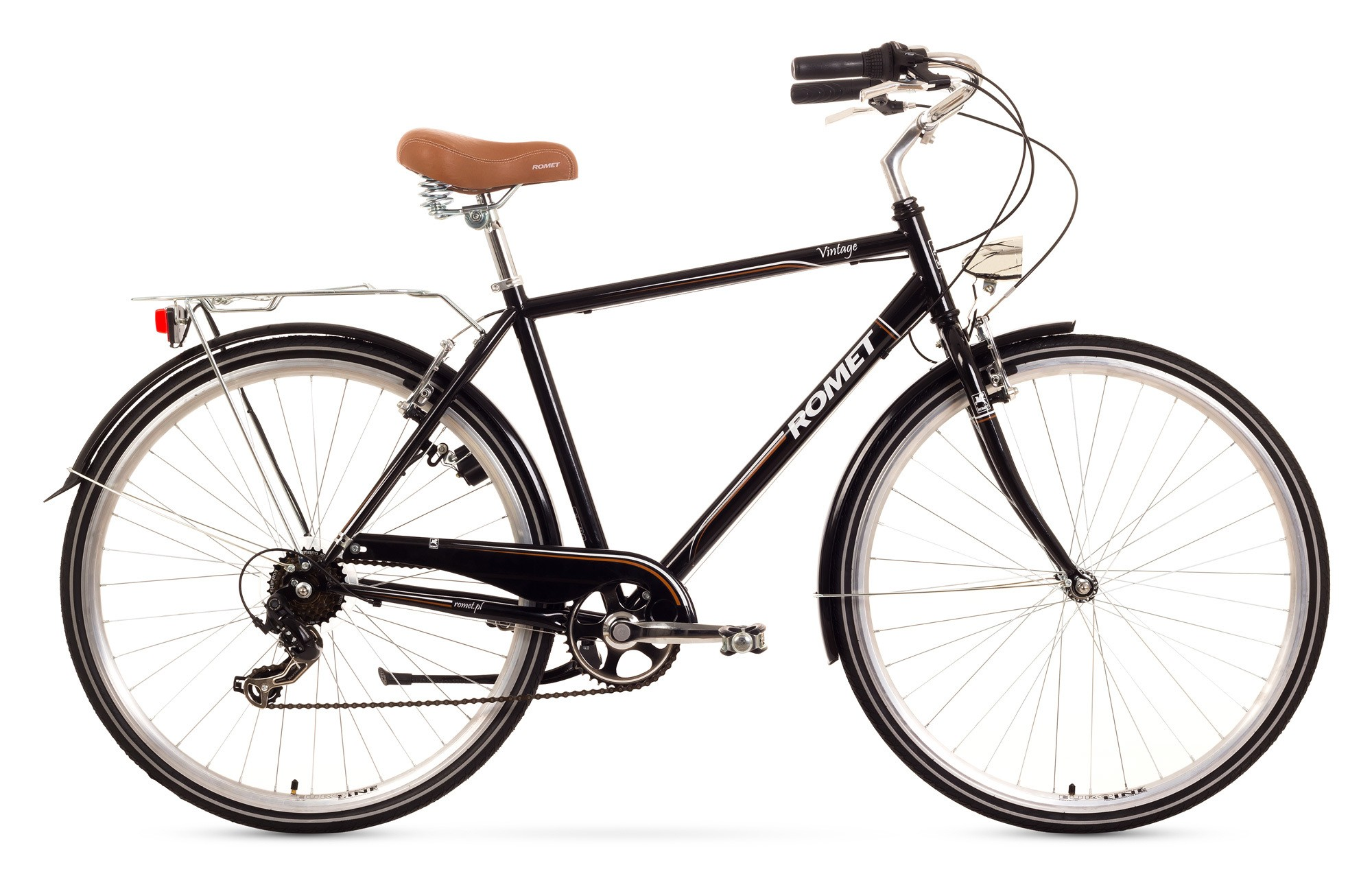 Bicicleta de oras Romet Vintage M - negru